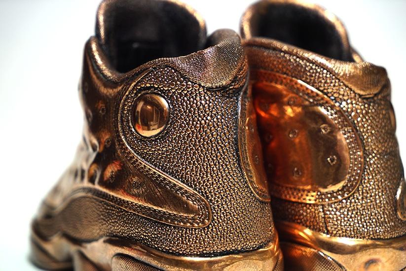 Jordan_Bronze_Sneaker_Statues_by_Artist_Msenna_2014_11