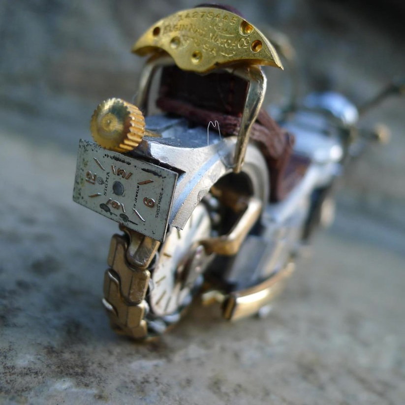 Model_Motorbikes_Made_Entirely_From_Discarded_Watch_Parts_2014_15