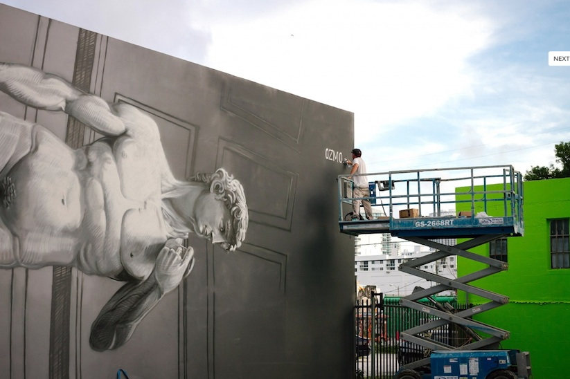 New_Mural_by_OZMO_ft_Lady_Liberty_and_Michelangelo_David_in_Miami_2014_03