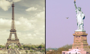 paris new york_timelapse_slider