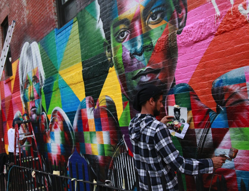 Colorful_Mural_of_Basquiat_and_Andy_Warhol_by_Eduardo_Kobra_in_Brooklyn_NYC_2014_04