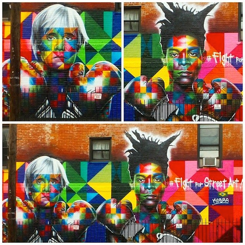 Colorful_Mural_of_Basquiat_and_Andy_Warhol_by_Eduardo_Kobra_in_Brooklyn_NYC_2014_07