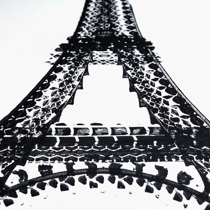 Famous_Landmarks_Printed_with_Bicycle_Tire_Tracks_by_Artist_Thomas_Yang_2014_02