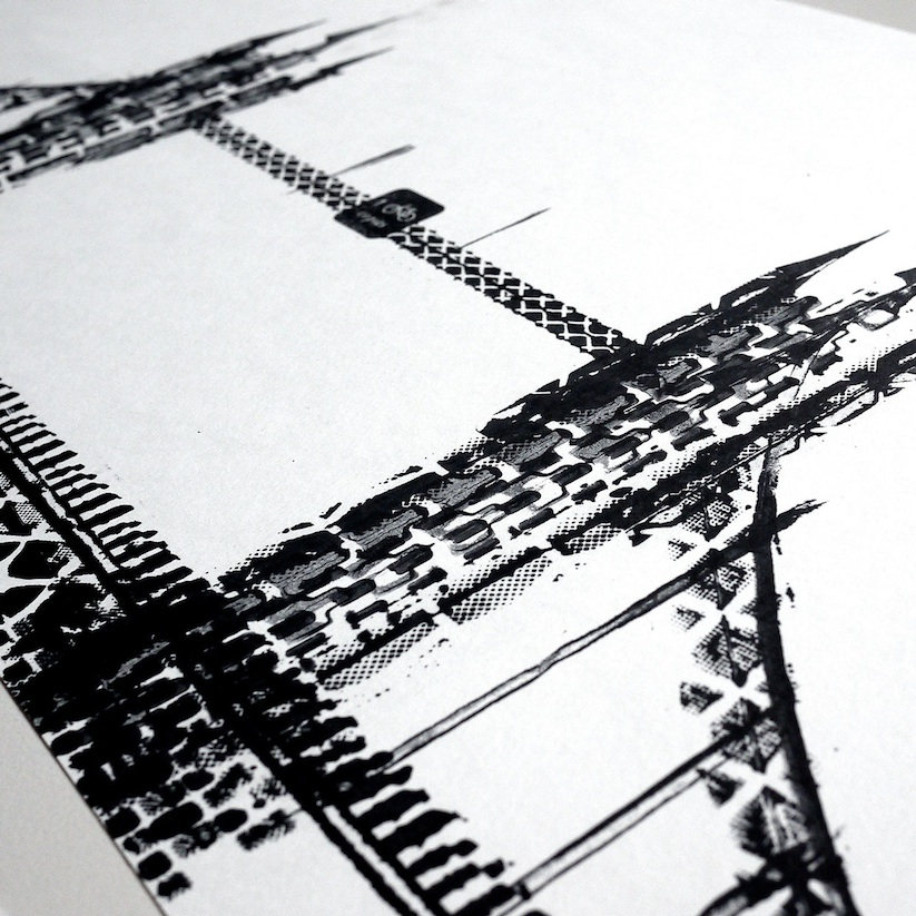 Famous_Landmarks_Printed_with_Bicycle_Tire_Tracks_by_Artist_Thomas_Yang_2014_07