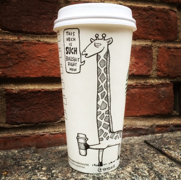 Hilariously_Twisted_Cartoons_Drawn_on_Coffee_Cups_by_Josh_Hara_2014_03