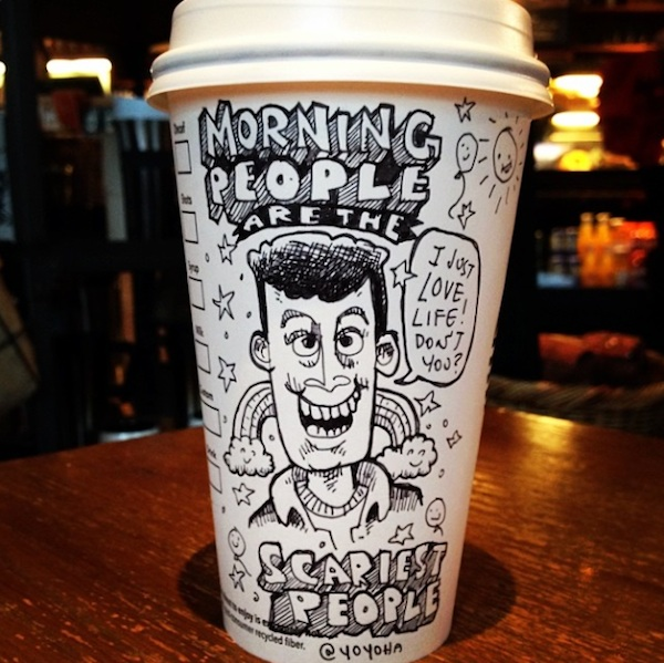 Hilariously_Twisted_Cartoons_Drawn_on_Coffee_Cups_by_Josh_Hara_2014_07