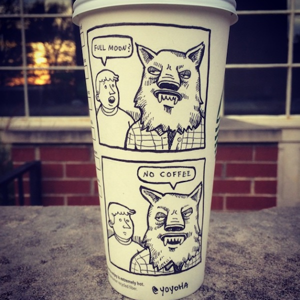 Hilariously_Twisted_Cartoons_Drawn_on_Coffee_Cups_by_Josh_Hara_2014_09