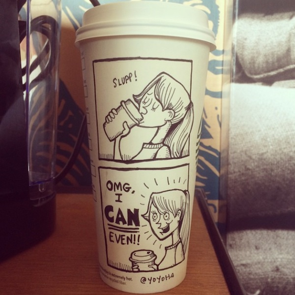Hilariously_Twisted_Cartoons_Drawn_on_Coffee_Cups_by_Josh_Hara_2014_11