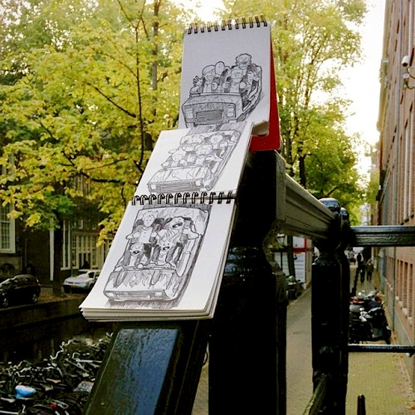 Cartoonbombing_New_Funny_Illustrated_Scenes_In_The_Streets_of_Amsterdam_2014_02