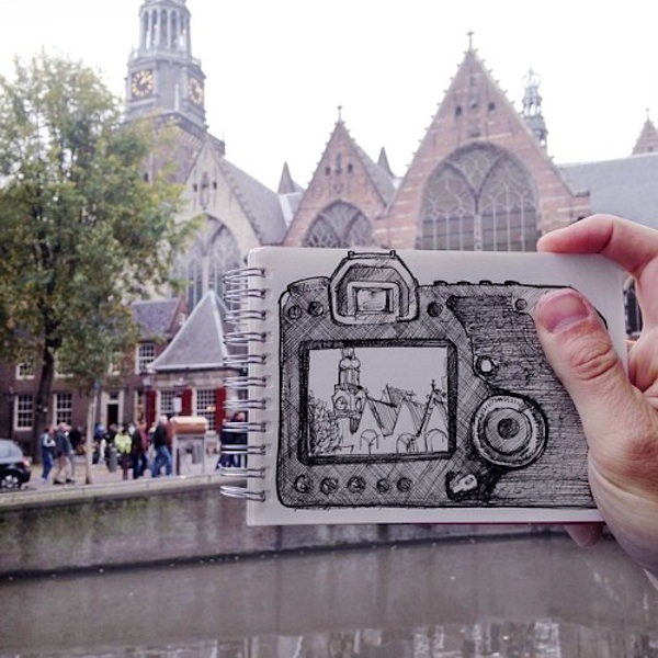 Cartoonbombing_New_Funny_Illustrated_Scenes_In_The_Streets_of_Amsterdam_2014_05