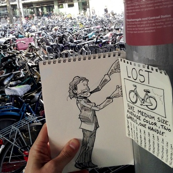 Cartoonbombing_New_Funny_Illustrated_Scenes_In_The_Streets_of_Amsterdam_2014_11