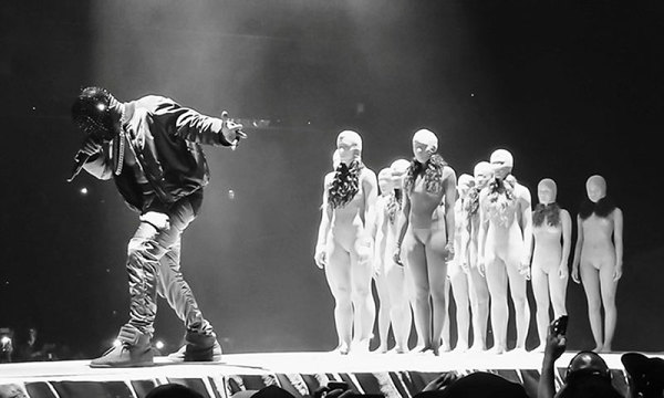 "Two Hour Kanye West ""Yeezus"" Guerrilla Footage Film + New ... Kanye West Yeezus Concert"