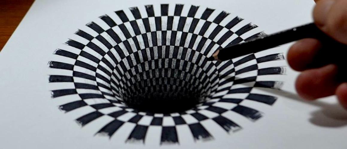 Anamorphic Design Art
