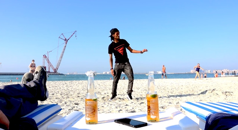 Hold_my_Beer_Marquese_Scott_Poppin_John_on_a_Beach_in_Dubai_2015_02