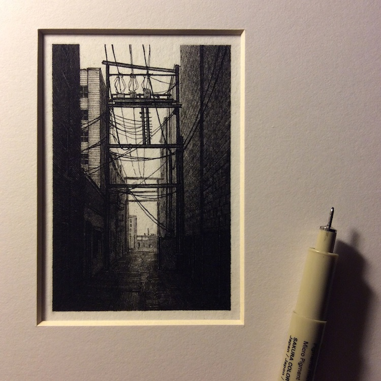 Incredibly_Detailed_Miniature_Drawings_of_Urban_Landscapes_by_Taylor_Mazer_2015_02