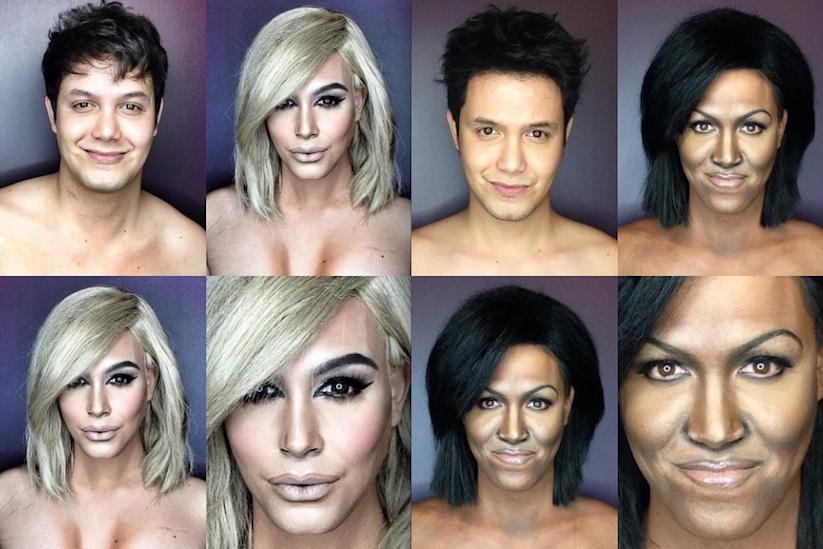 Makeup artists amazing celebrity transformations
