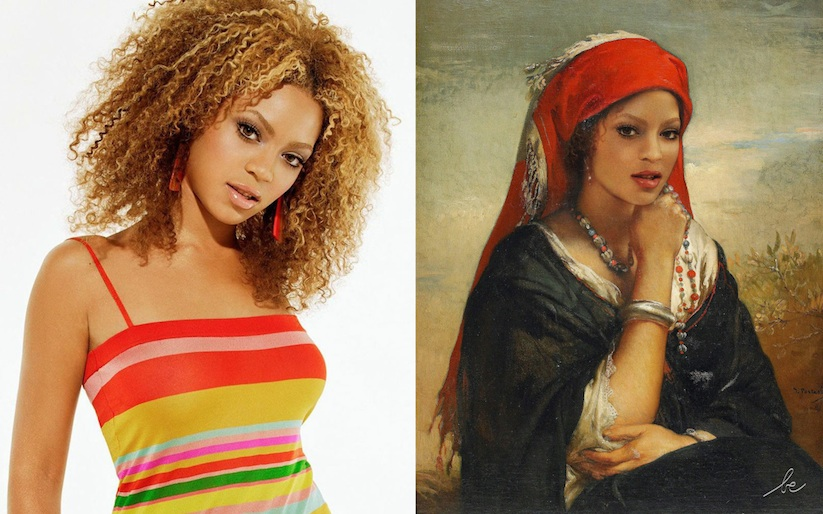 Voyages_Dans_Le_Temps_Modern_Celebrities_in_Historical_Paintings_2015_12