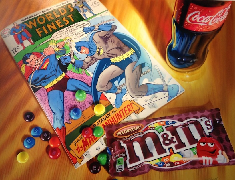 New_Hyper_Realistic_Oil_Paintings_of_Old_School_Snacks_And_Comics_by_Doug_Bloodworth_2015_01