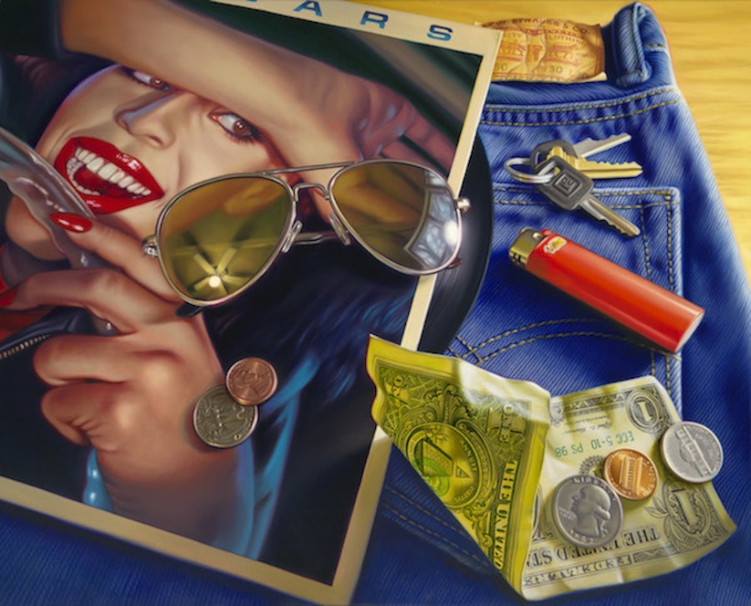 New_Hyper_Realistic_Oil_Paintings_of_Old_School_Snacks_And_Comics_by_Doug_Bloodworth_2015_11