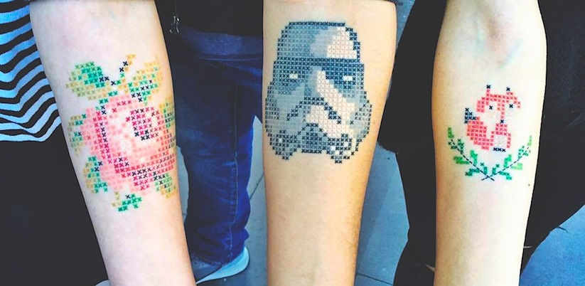Adorable_Cross_Stitch_Tattoos_by_Turkish_Artist_Eva_Krbdk_2015_01