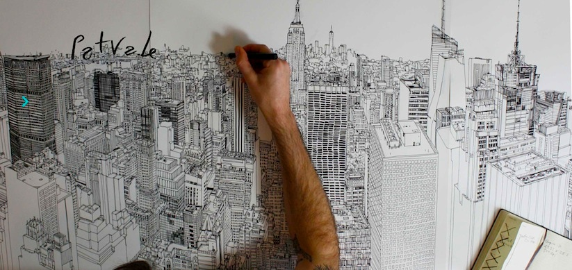 Colossus_An_Aerial_Panorama_of_New_York_illustrated_by_Patrick_Vale_2015_01