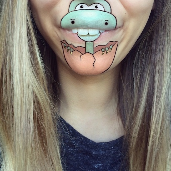 New_Cartoon_Lip_Art_Creations_by_Makeup_Artist_Laura_Jenkinson_2015_03