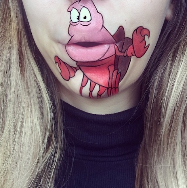 New Cartoon Lip Art Creations By Makeup Artist Laura Jenkinson - Laura jenkinson mouth painting
