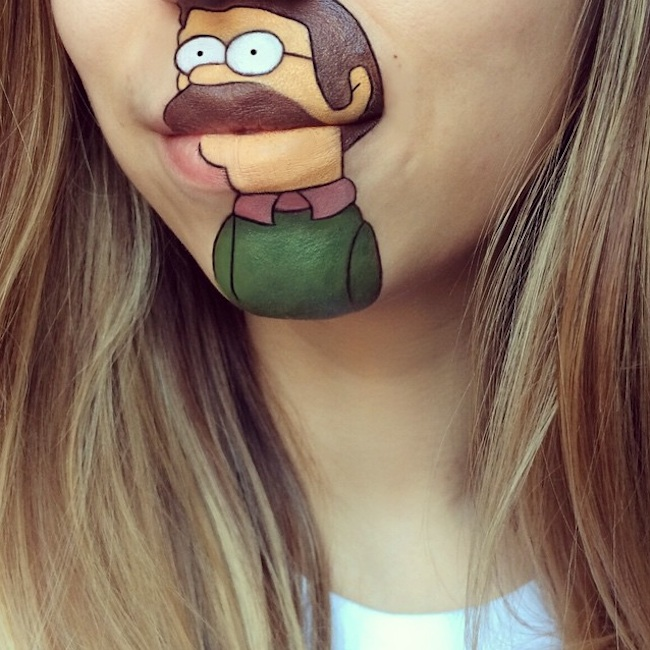 New_Cartoon_Lip_Art_Creations_by_Makeup_Artist_Laura_Jenkinson_2015_12
