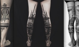 Adorable_Back_of_Leg_Tattoos_by_Thieves_of_Tower_2015_header