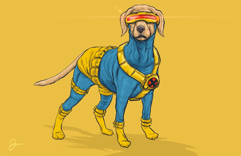 Dogs_of_the_Marvel_Universe_by_Illustrator_Josh_Lynch_2015_12