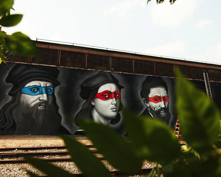 Renaissance_Masters_Painted_as_Ninjas_by_Street_Artist_Owen_Dippie_in_Bushwick_Brooklyn_2015_07