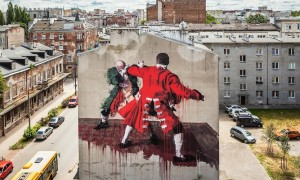 Warsaw_Fight_Club_A_New_Mural_by_Street_Artist_Conor_Harrington_in_Warsaw_Poland_2015_header
