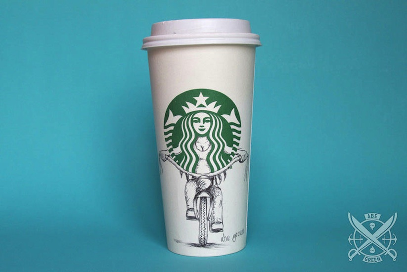 The_Secret_Life_of_the_Starbucks_Siren_by_Mexican_Illustrator_Abe_Green_2015_01