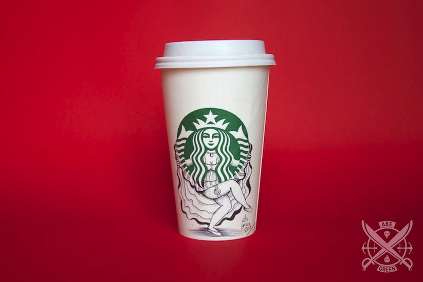 The_Secret_Life_of_the_Starbucks_Siren_by_Mexican_Illustrator_Abe_Green_2015_02