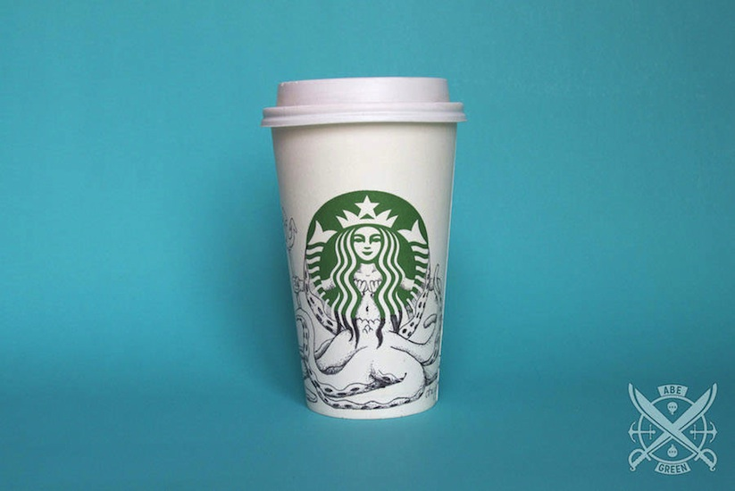 The_Secret_Life_of_the_Starbucks_Siren_by_Mexican_Illustrator_Abe_Green_2015_05