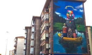 Okuda_Serzo_Collaborate_on_a_Large_Mural_in_Santander_Spain_2015_header