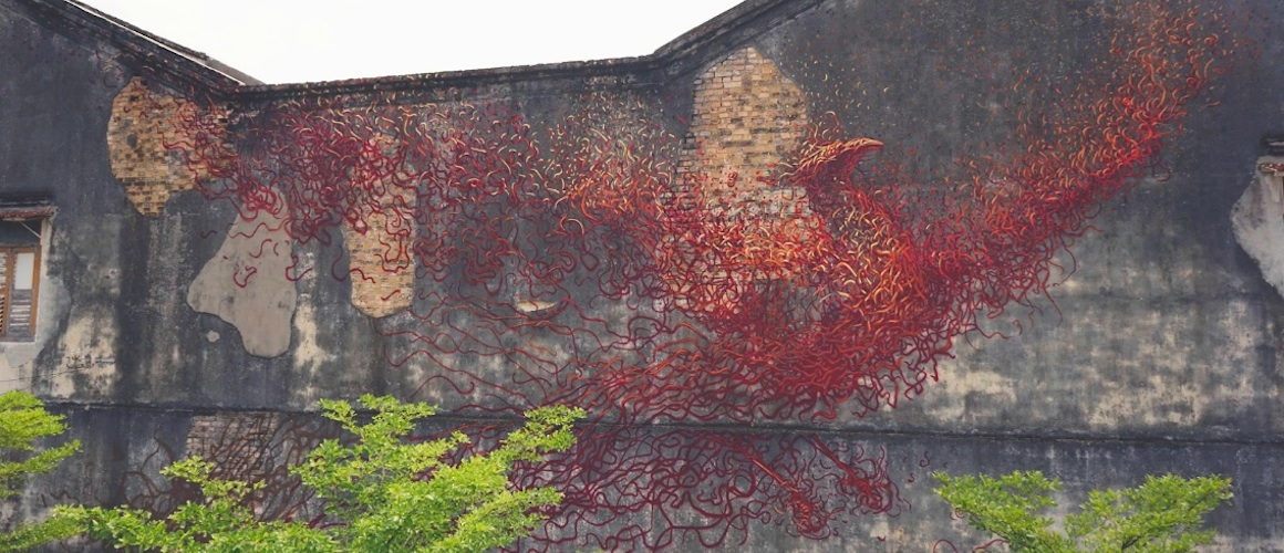 """Phoenix"" – A New Stunning Mural by Street Artist DALeast ..."