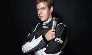 Sebastian Vettel Media Day London Braun 11