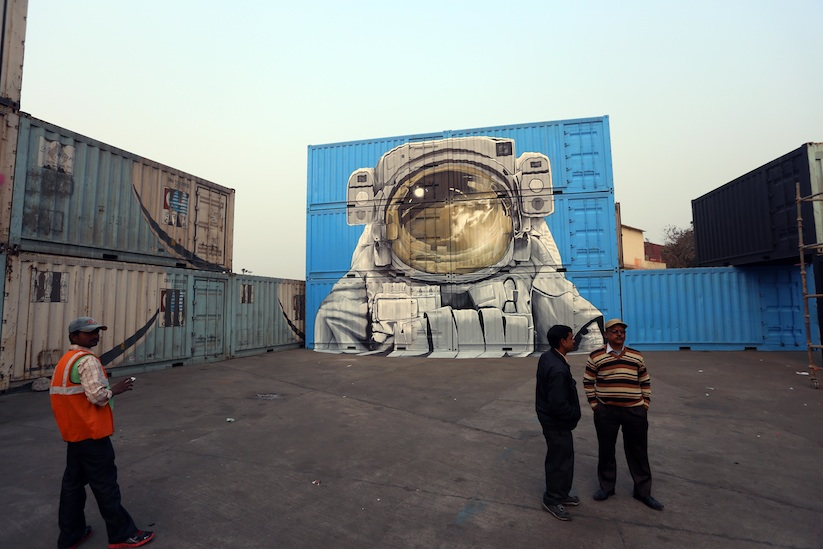 New_Impressive_Mural_by_Artist_Duo_NEVERCREW_in_India_New_Delhi_2016_04