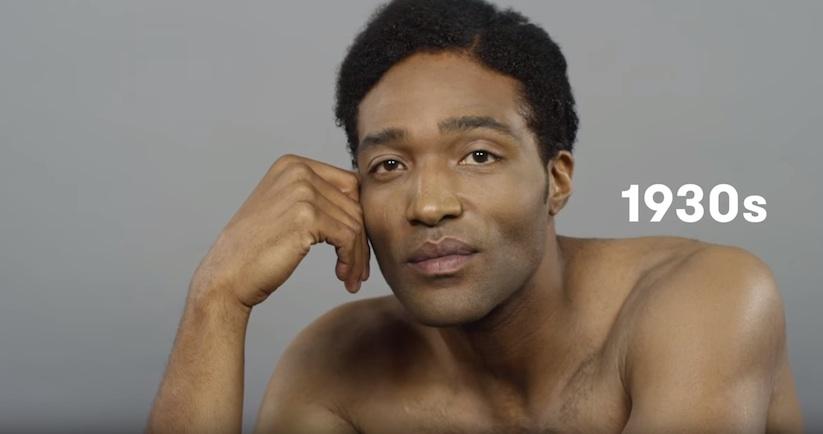 100 Years Of Beauty USA Men 1930