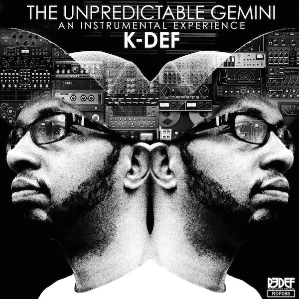 K-Def The Unexpecteable Gemini Cover