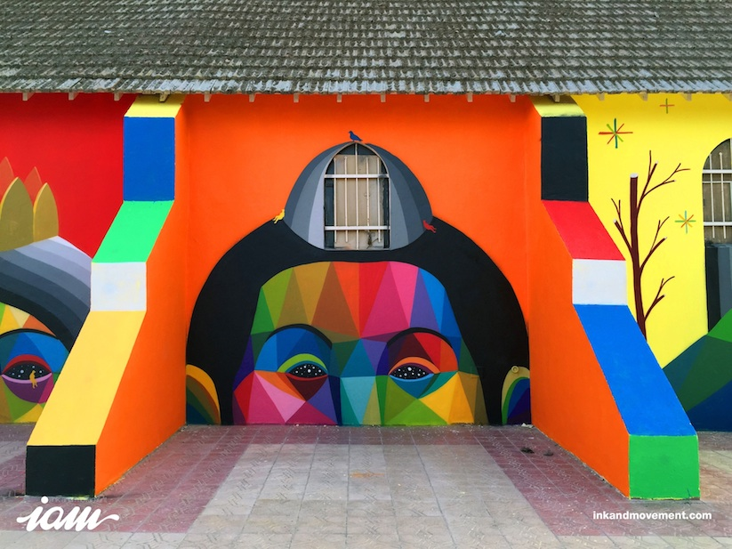 11_Mirages_to_the_Freedom_Spanish_Street_Artist_Okuda_Painted_a_Church_in_Youssoufia_Morocco_2016_08