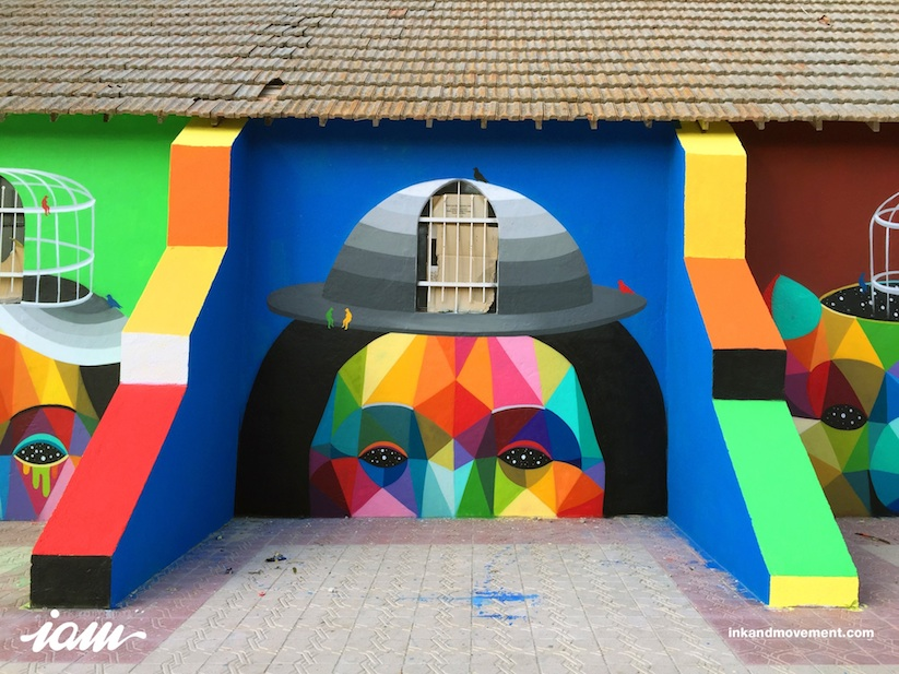 11_Mirages_to_the_Freedom_Spanish_Street_Artist_Okuda_Painted_a_Church_in_Youssoufia_Morocco_2016_10