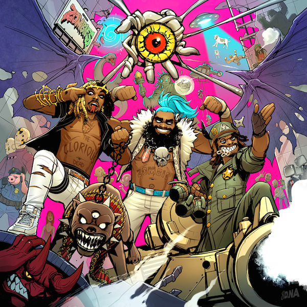 Flatbush Zombies 3001 A Laced Odyssey_Cover WHUDAT