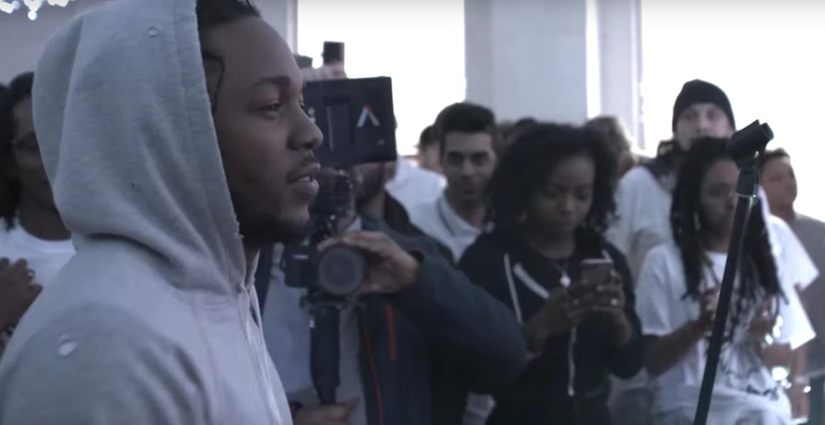 Kendrick Lamar Reebok Cypher