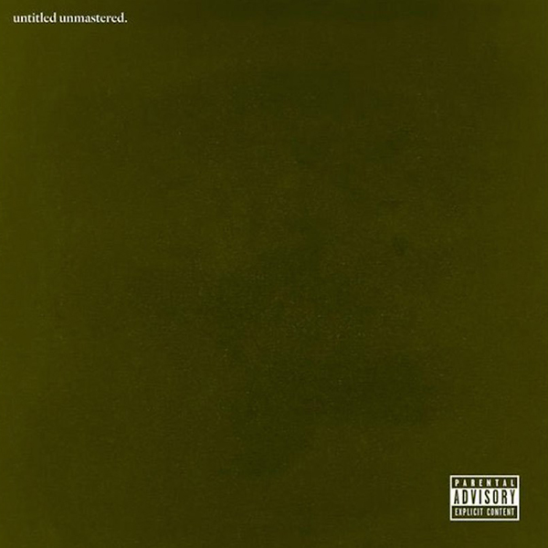 Kendrick Lamar Untitled Unmastered Cover WHUDAT2