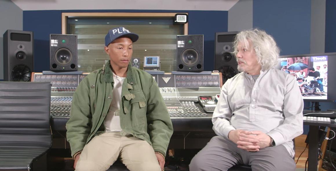 Pharrell Williams Masterclass Clive Davis Institute WHUDAT