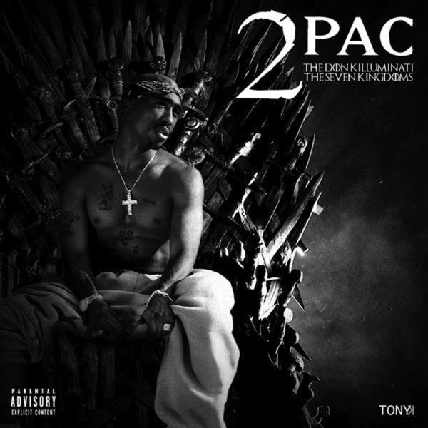 Tupac 2Pac Seven Kingdoms Cover WHUDAT