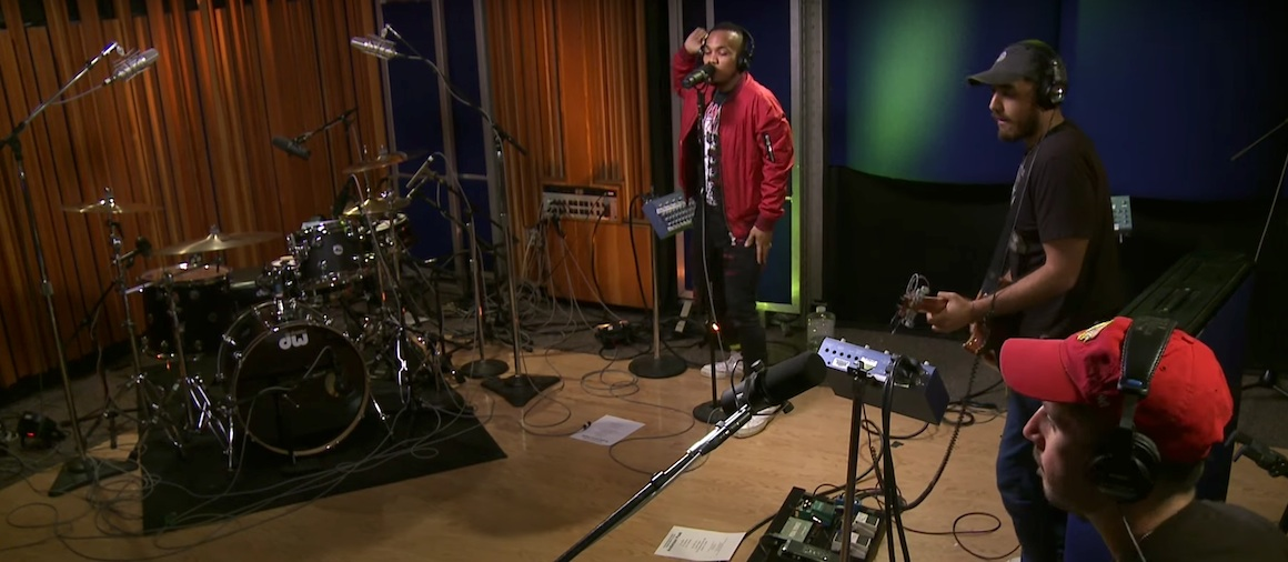 Anderson Paak Am I Wrong live on KCRW WHUDAT