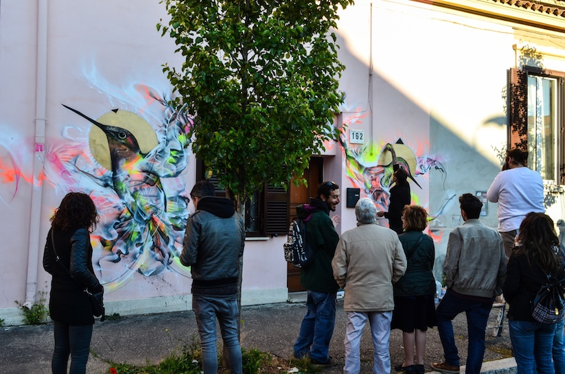 Magic_Birds_New_Spray_Painted_Birds_by_L7m_in_Rome_Italy_2016_09
